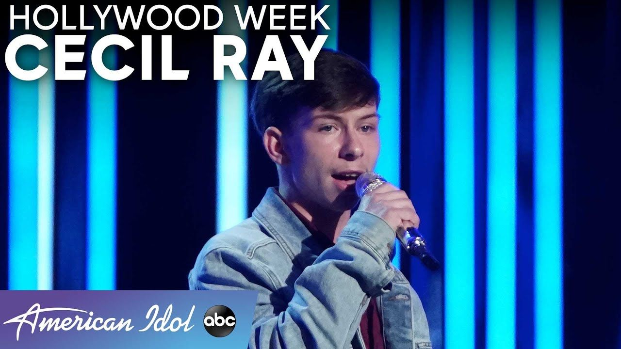 Aww Cecil Ray Dedicates His Performance To A Special Little Lady American Idol 2021 Youtube In 2021 American Idol American Idol