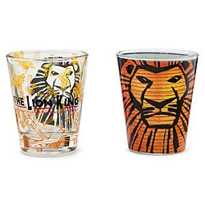 Disney The Lion King The Broadway Musical Mini Glass Set Lion