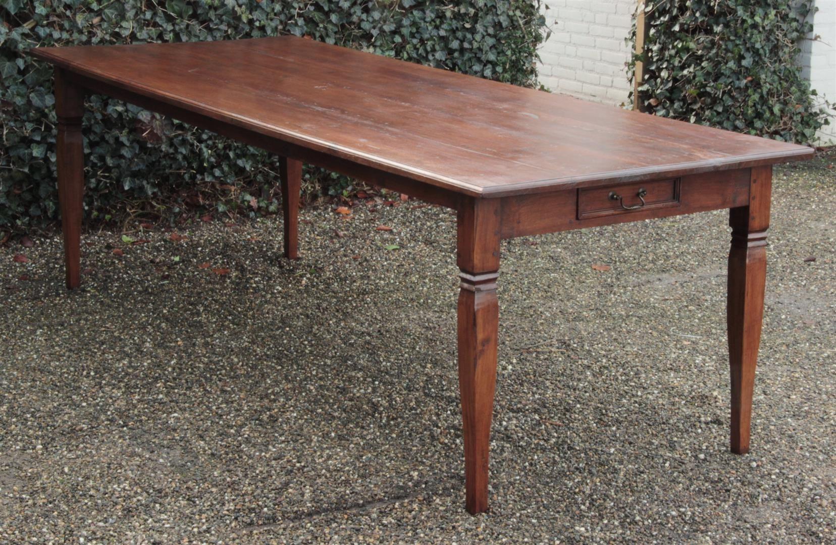 Antiker Langer Tisch Kronleuchter Antik Antike Spiegel Und