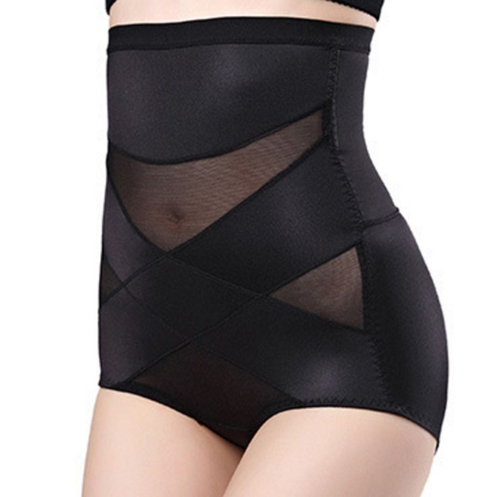 69aef6ac00ff6 Harmily Women Sexy Shapewear High Waist Thin MidLumbar Abdomen Hips  Slimming Briefs   Check out this