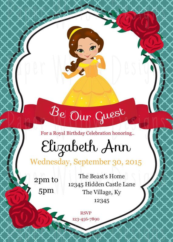 Pin On Beauty And The Beast Party