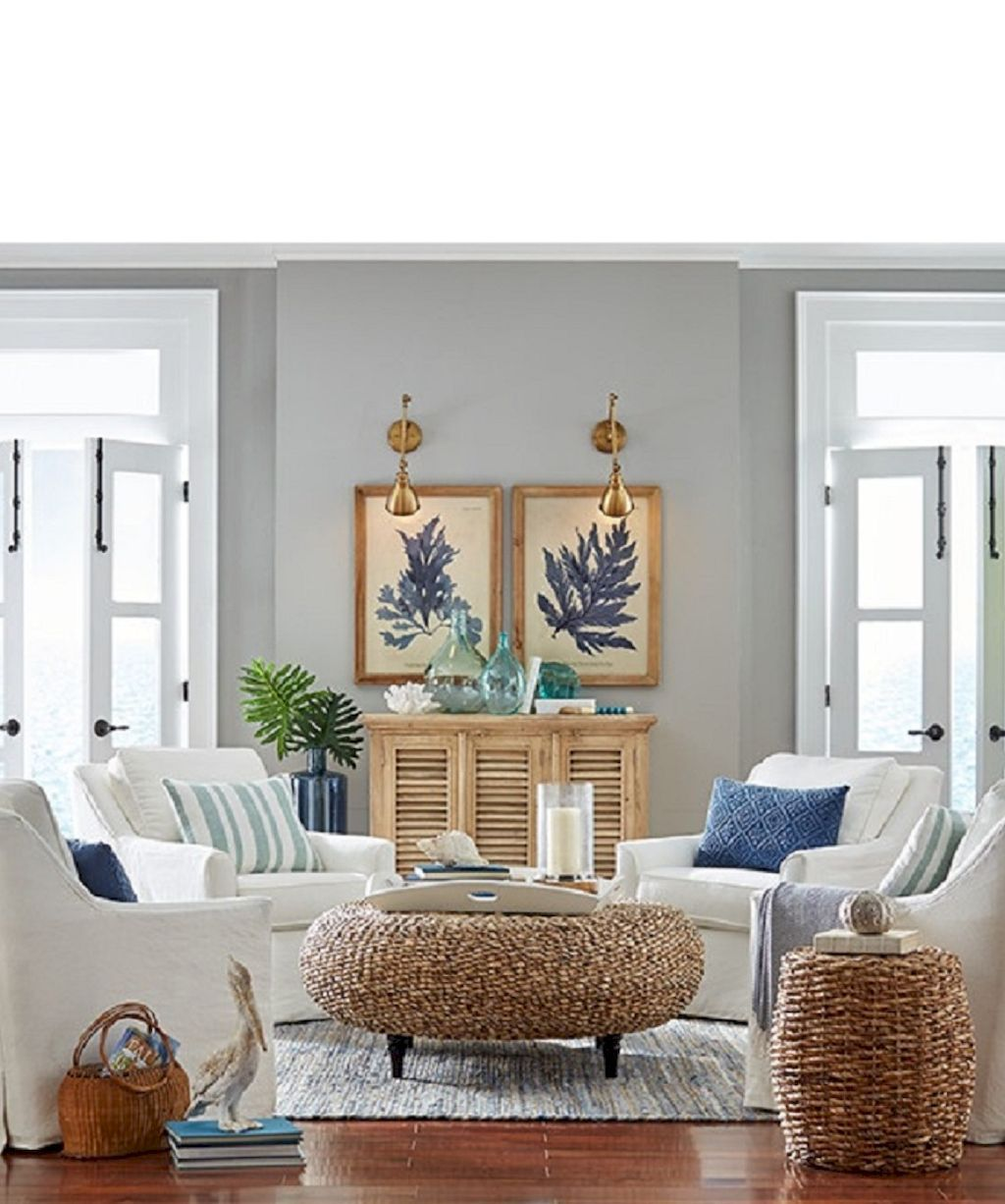 Cozy Coastal Living Room: Cozy Coastal Living Room Decorating Ideas (15)