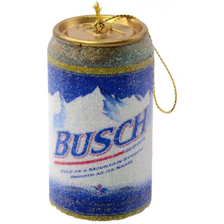 This Busch Beer Can Ornament belongs on your tree  HA