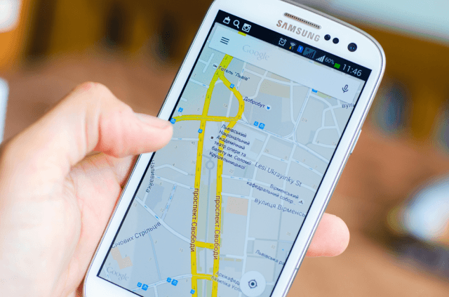 Google Maps is a web based mapping service which developed