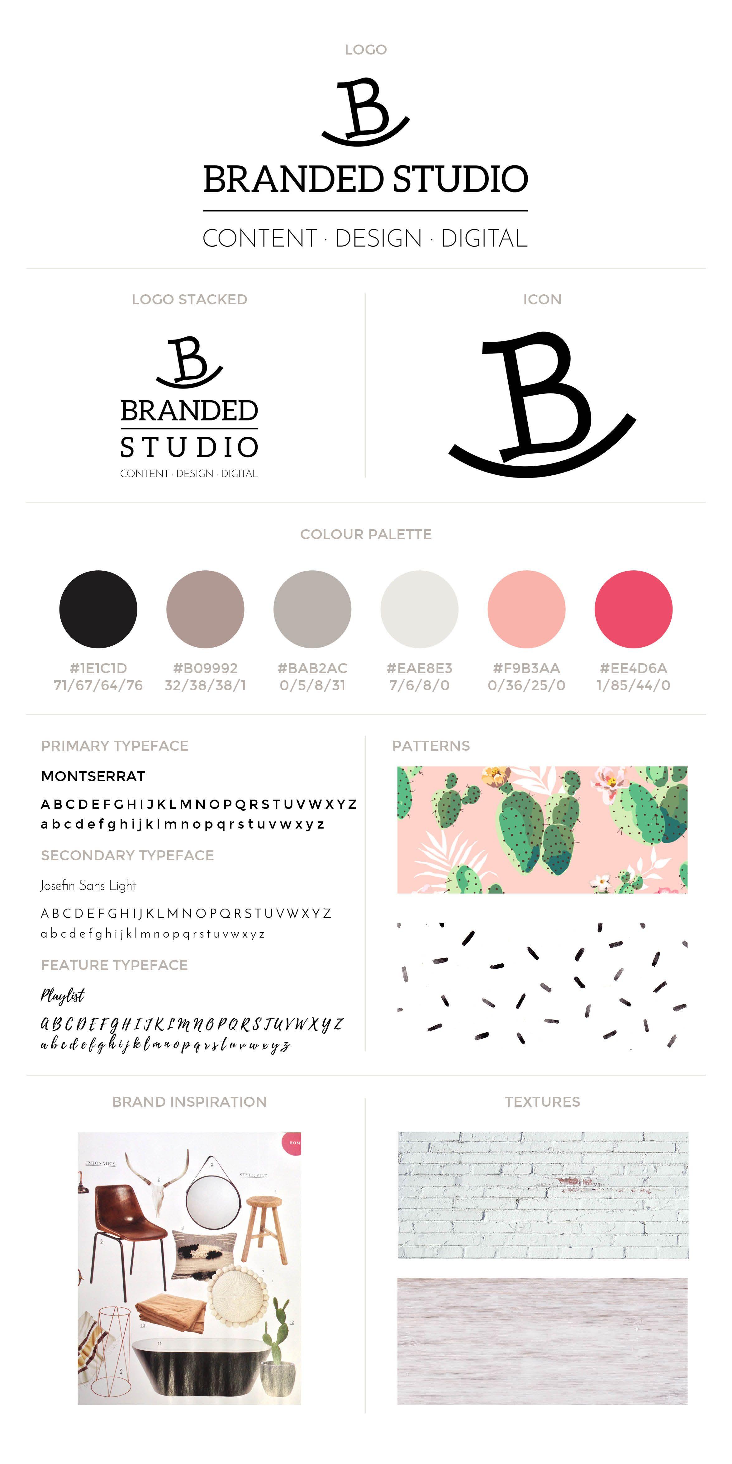 Brand & website refresh for Branded Studio  Includes logo