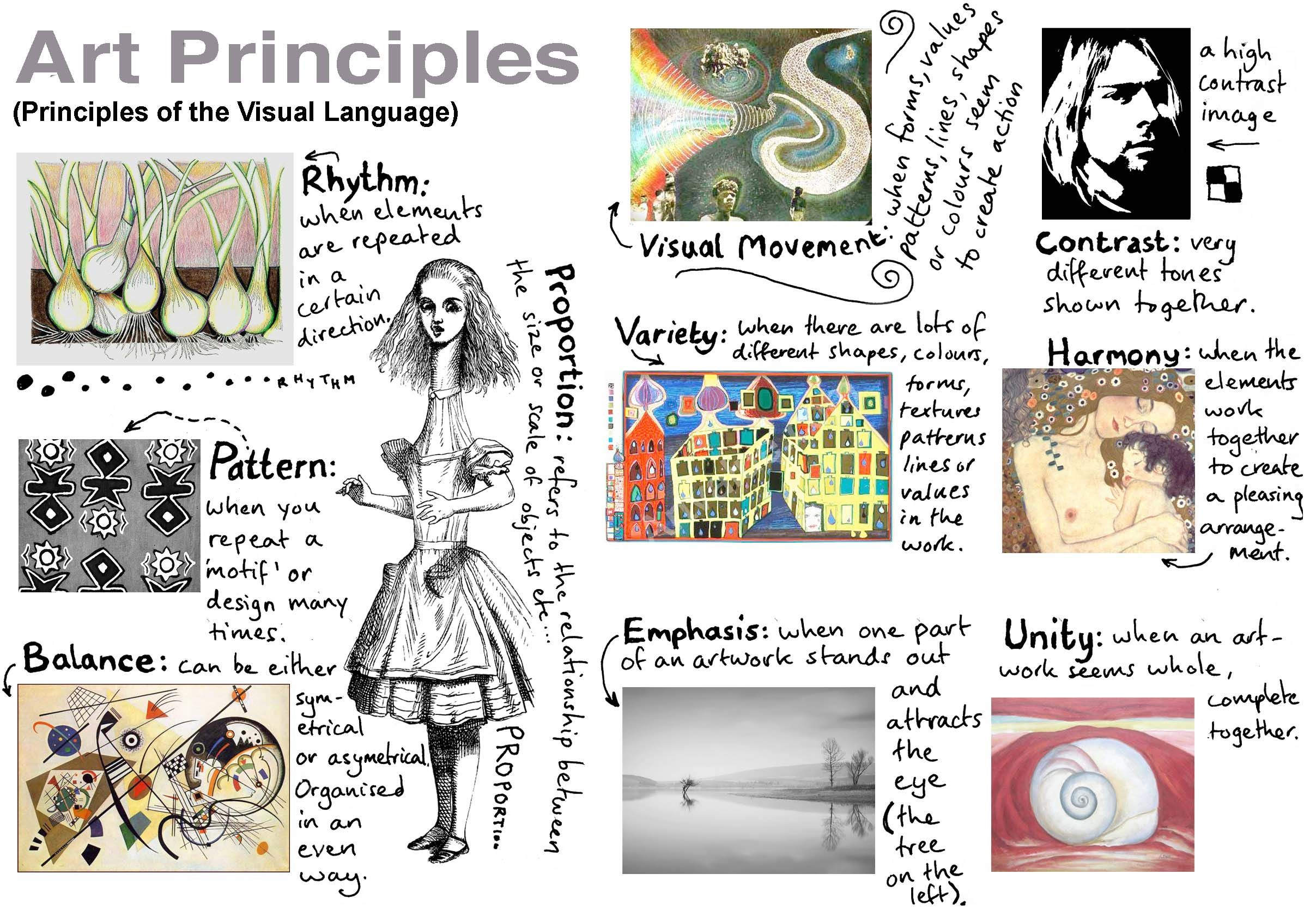 worksheet Elements And Principles Of Art Worksheet resources for grade 12 arts more elements and principlesart elementsart worksheetsart