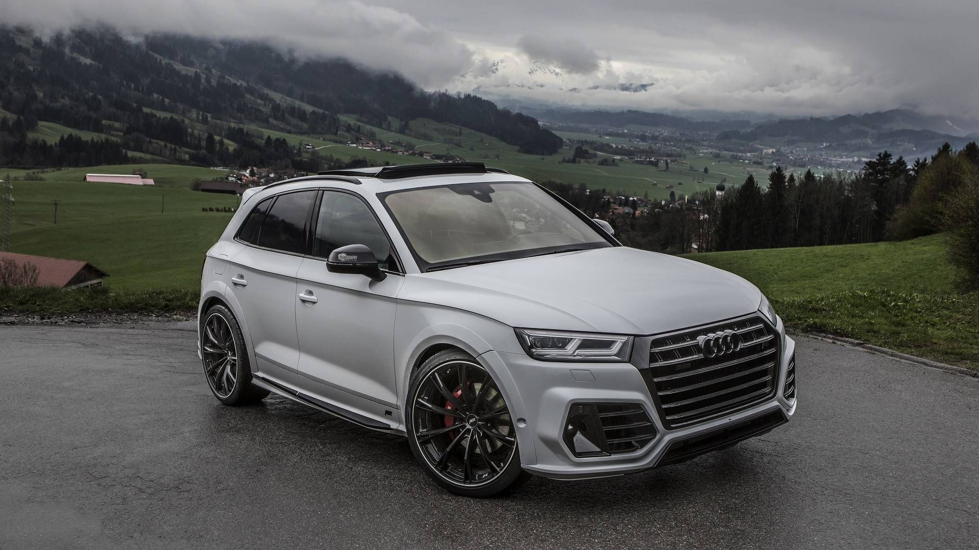 Audi Sq5 Upgraded By Abt Takes Scenic Route For Photo Shoot Sq5 Audi Abt