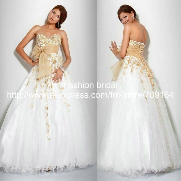 Elegant Sweetheart Neckline Off-Shoulder Lace Tulle Satin Full ...