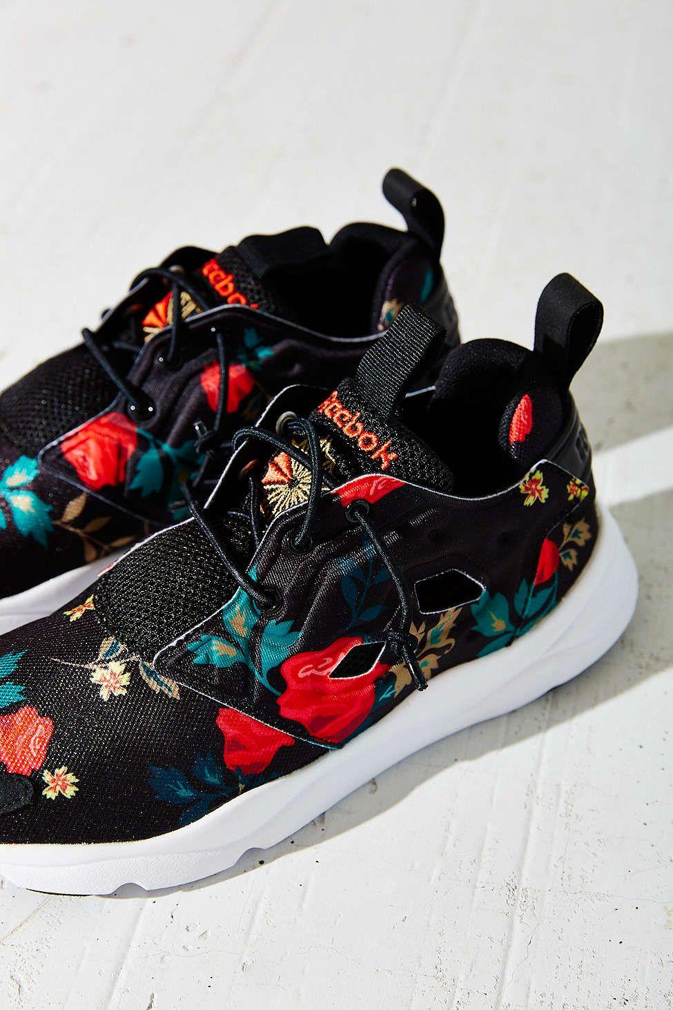 c48e571f1b1 Reebok Furylite Roses Runner Sneaker - Urban Outfitters