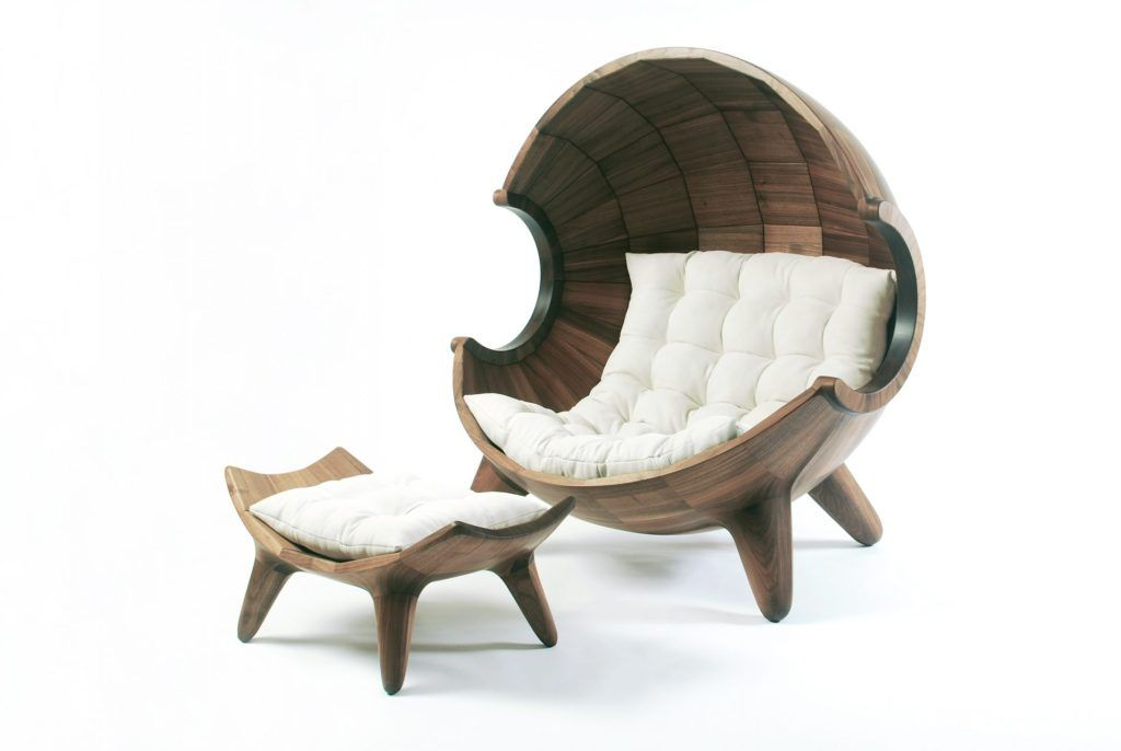 Wooden ball chair