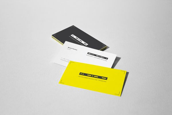 BCE Infocommunication Department Identity by Kiss József Gergely, via Behance