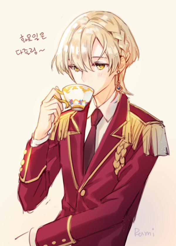 rumi🌈 on Blonde anime boy, Blonde hair anime boy, Cute