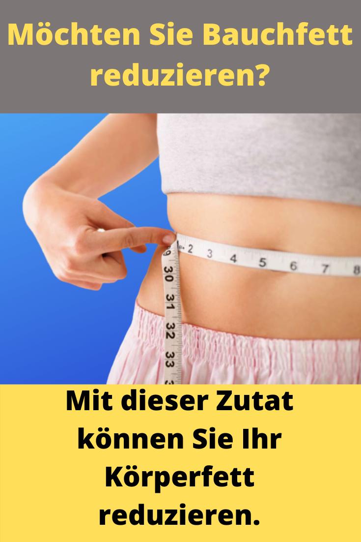 Gewichtsverlust und Körperfett