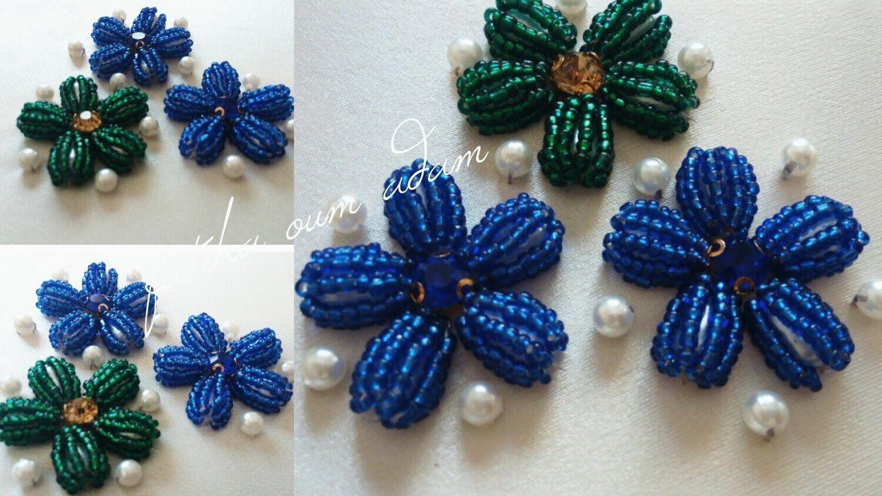 طريقة رائعة و عملية في التنبات المنفوخ تنبات للمبتدئات مع ام ادم Embroidery Flowers Bead Art Diy Embroidery