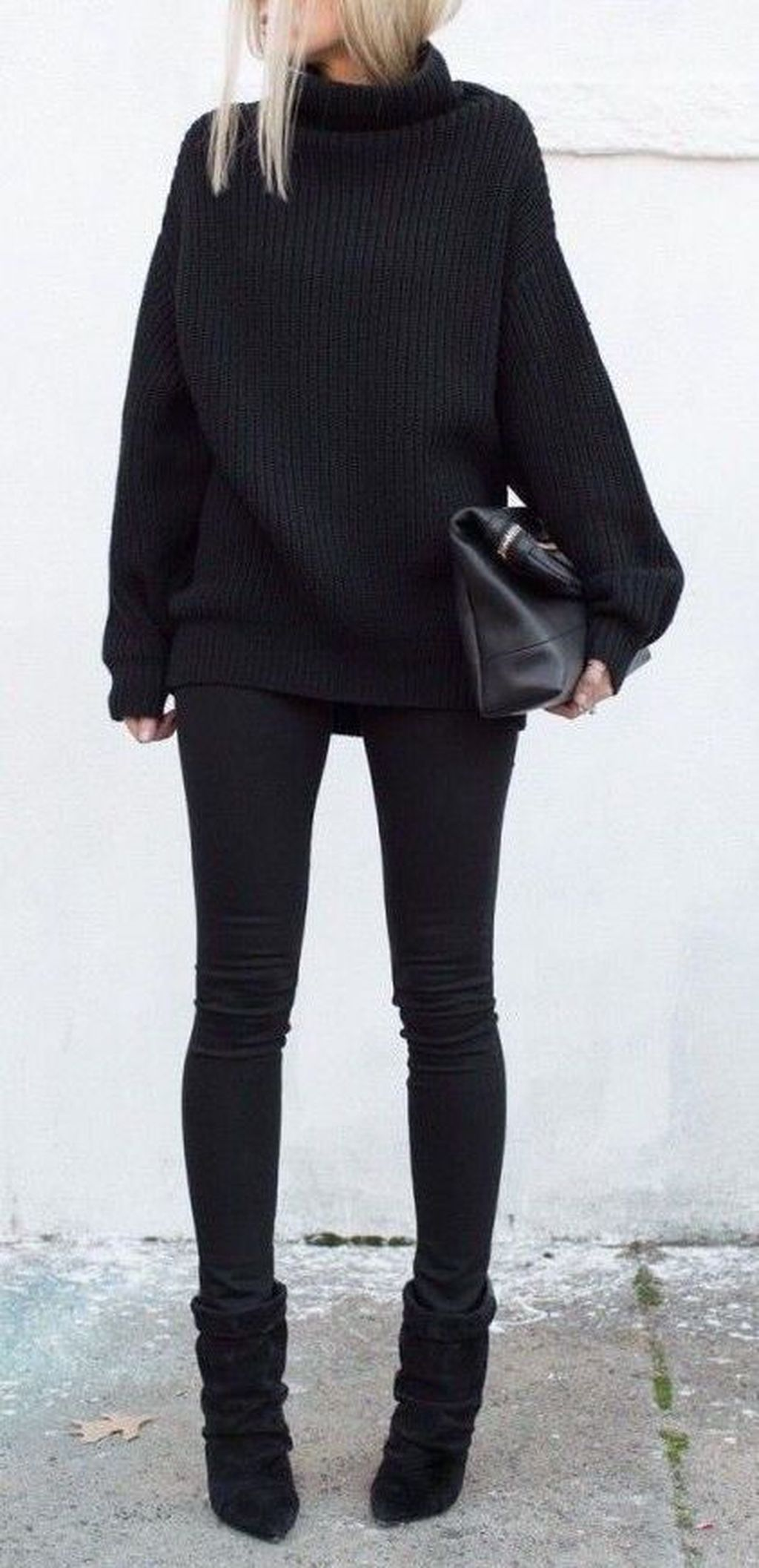 46 popular black turtleneck outfits ideas for daily