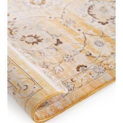 Photo of benuta Trends Teppich Safira Gelb 240×310 cm – Vintage Teppich im Used-Look