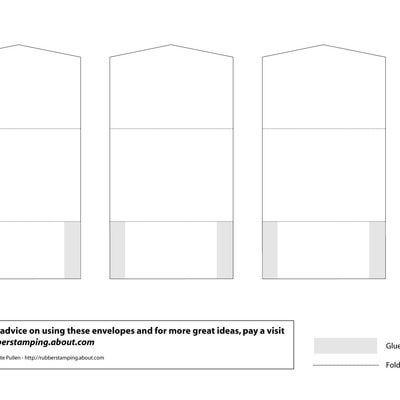 Easy Diy How To Make Custom Envelopes Of Any Size  Small