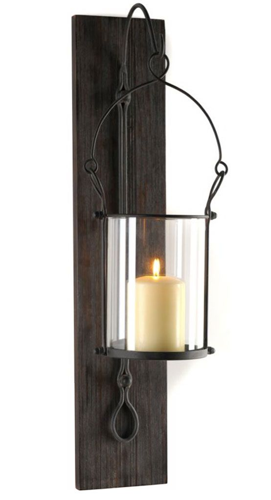 Metal Hanging Lantern Sconce | Decor: Objets | Pinterest ...
