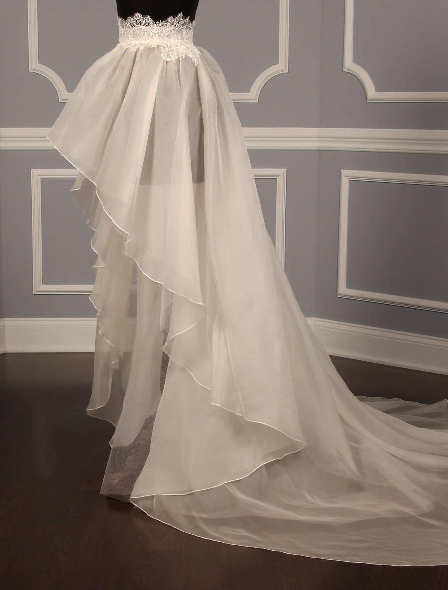Austin Scarlett Cecilia Discount Designer Wedding Overskirt