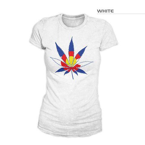 Colorado Flag Marijuana | Colorado Marijuana Leaf | Colorado Flag Pot – Fearless State
