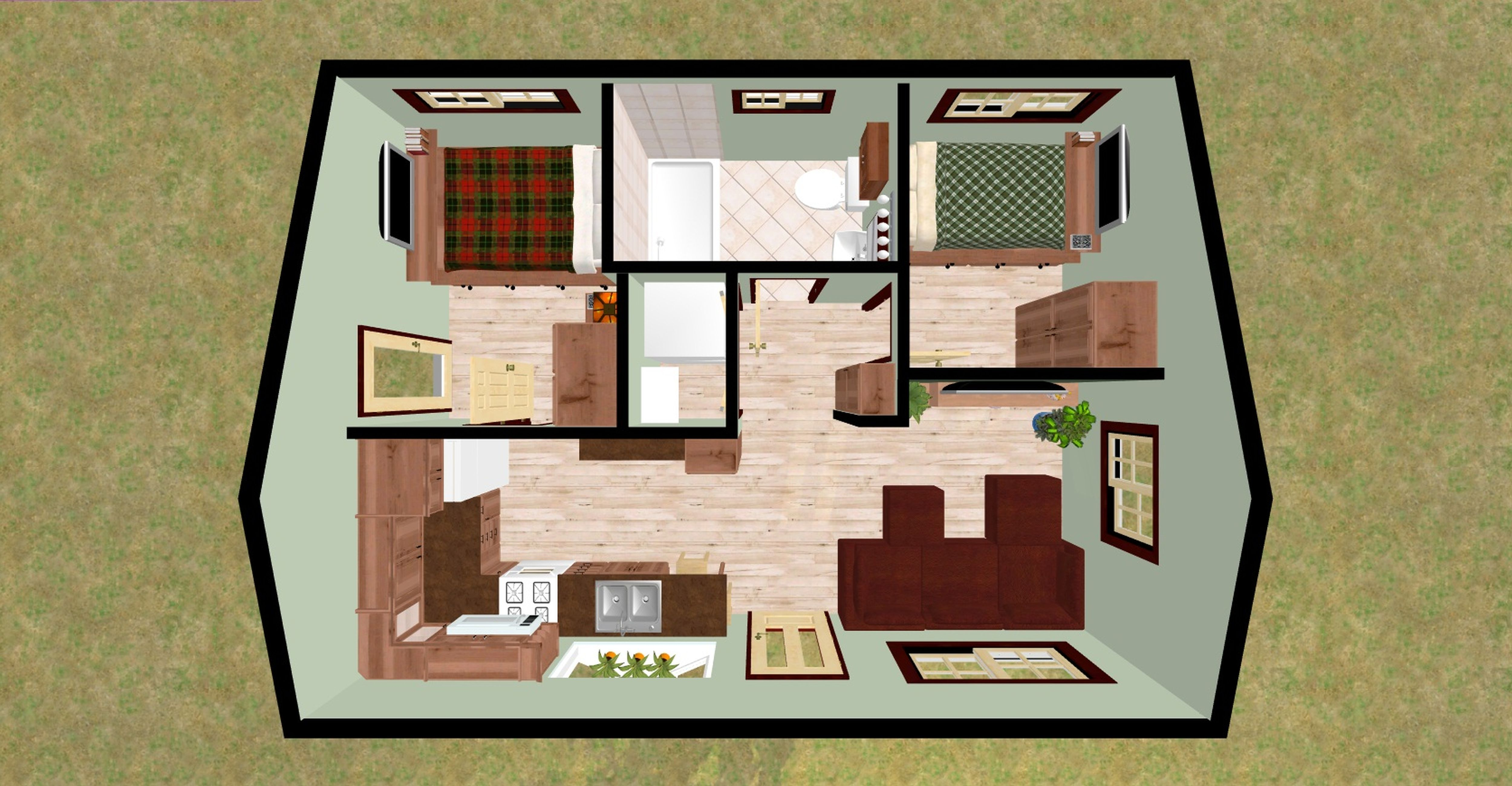 Join The Discussion On This Adorable Futuristic Houses Decozt Inspiring Home Interior Design Id Home Design Floor Plans Tiny House Layout Tropical House Design