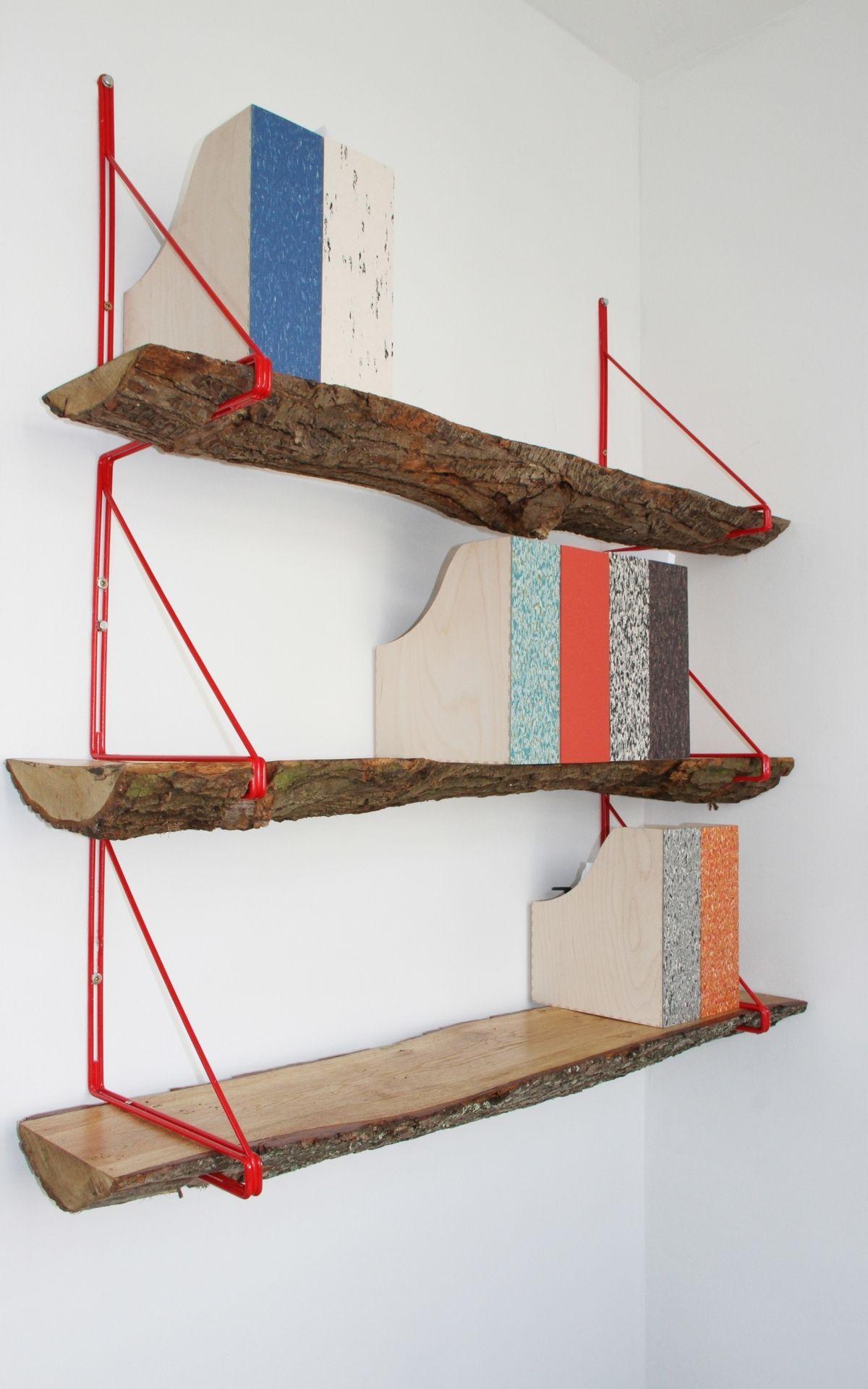 Wood Log Bookshelf Source Studioswine