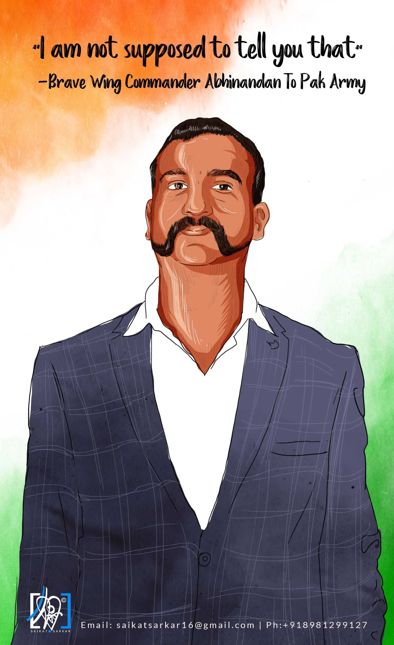 Check out my Behance project Back Abhinandan