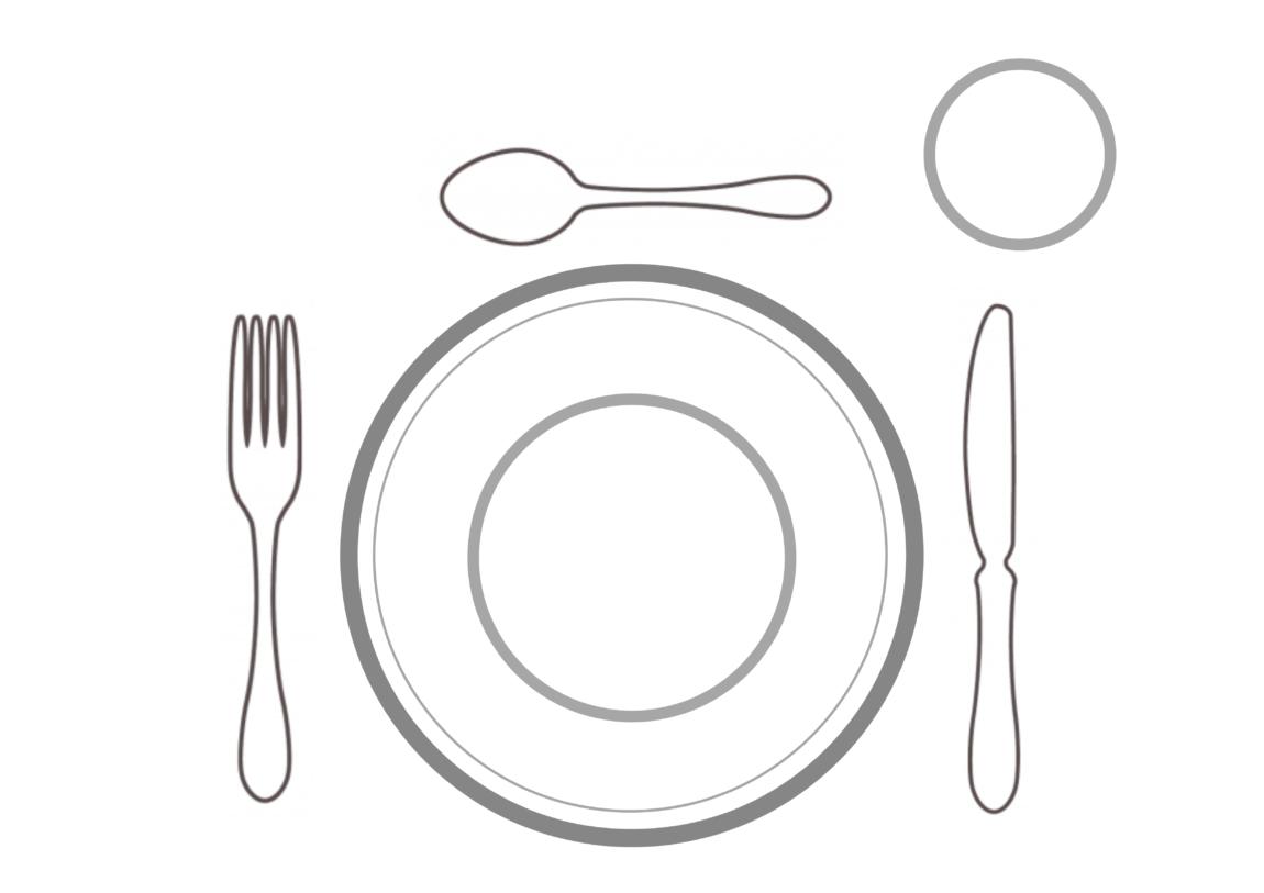 Montessori // Wir lernen den Tisch einzudecken + Druckvorlage - Schwesternliebe&Wir