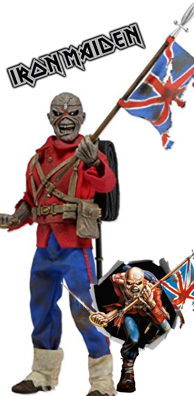 Neca Iron Maiden Trooper 8 Clothed Action Figure Iron Maiden Neca Maiden
