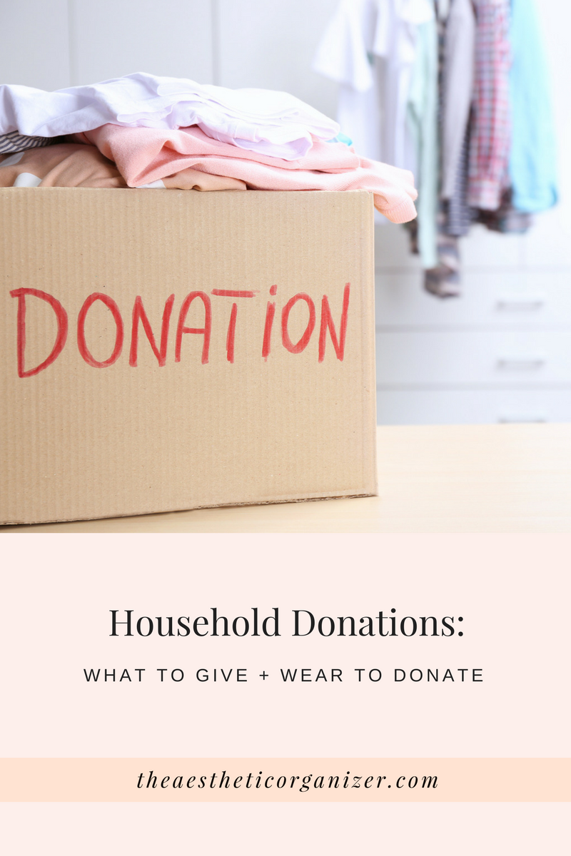 What To Donate And Where To Give Household Items In New York City,  Featuring Charities