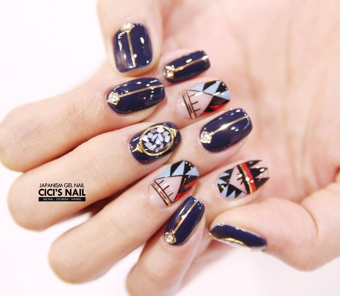 Pin by A. Moy on Cici\'s Nail | Pinterest | Manicure, Korean nail art ...