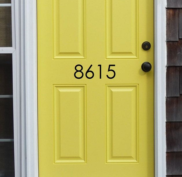 House address numbers - Vinyl Wall Art   House address numbers ...