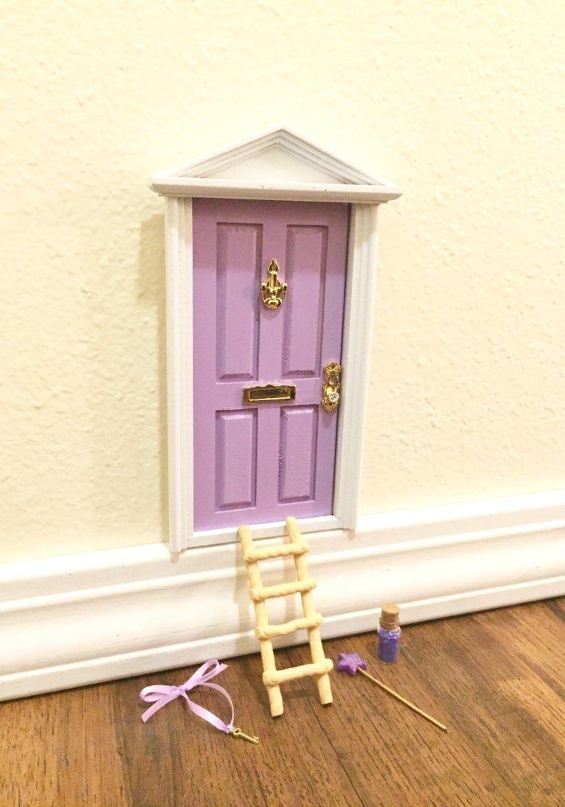 Puerta de hadas, hada de los dientes puerta, hada mágica, jardín de hadas, lavanda, hadas Kit, Ann Arbor puerta puerta