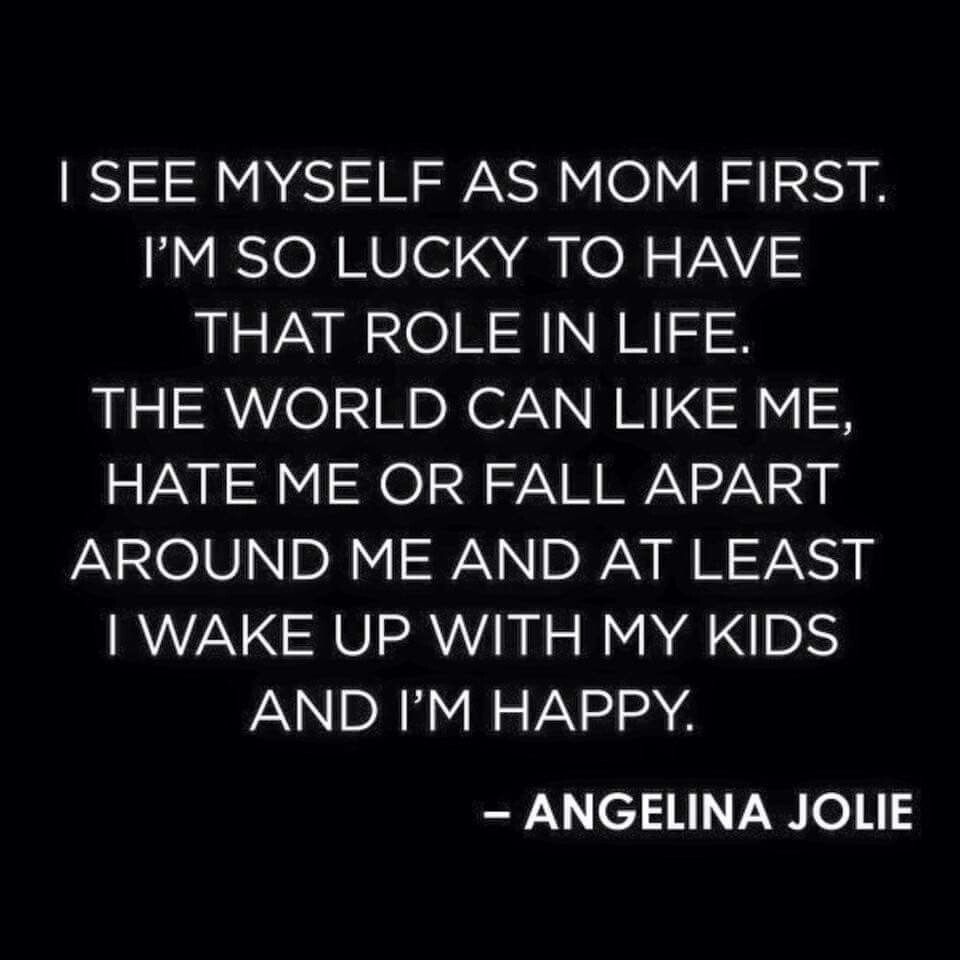 Amen!! My hubby and daughter are my world!! The world around ...