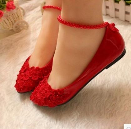 zapatos rojos para boda bajos | zapatos :3 | zapatos rojos niña