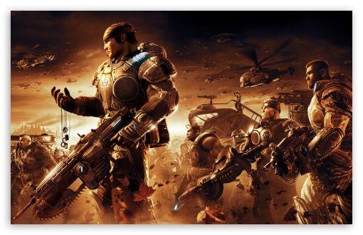 Download Gears Of War Game Battle Hd Wallpaper En 2020 Battle Royale