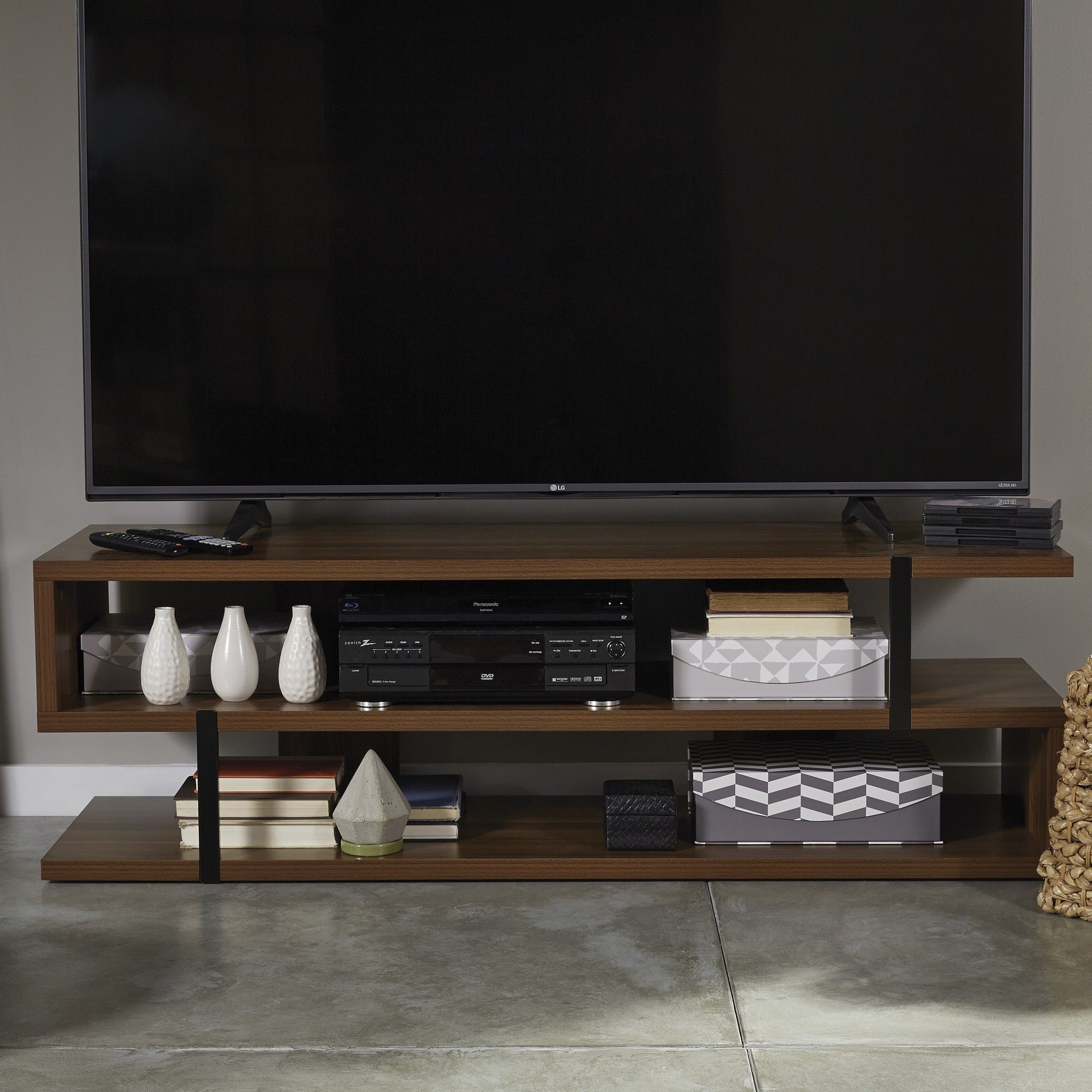 new products 18e9c 01527 Lincoln TV Stand | Products | S shaped tv stand, Living room ...