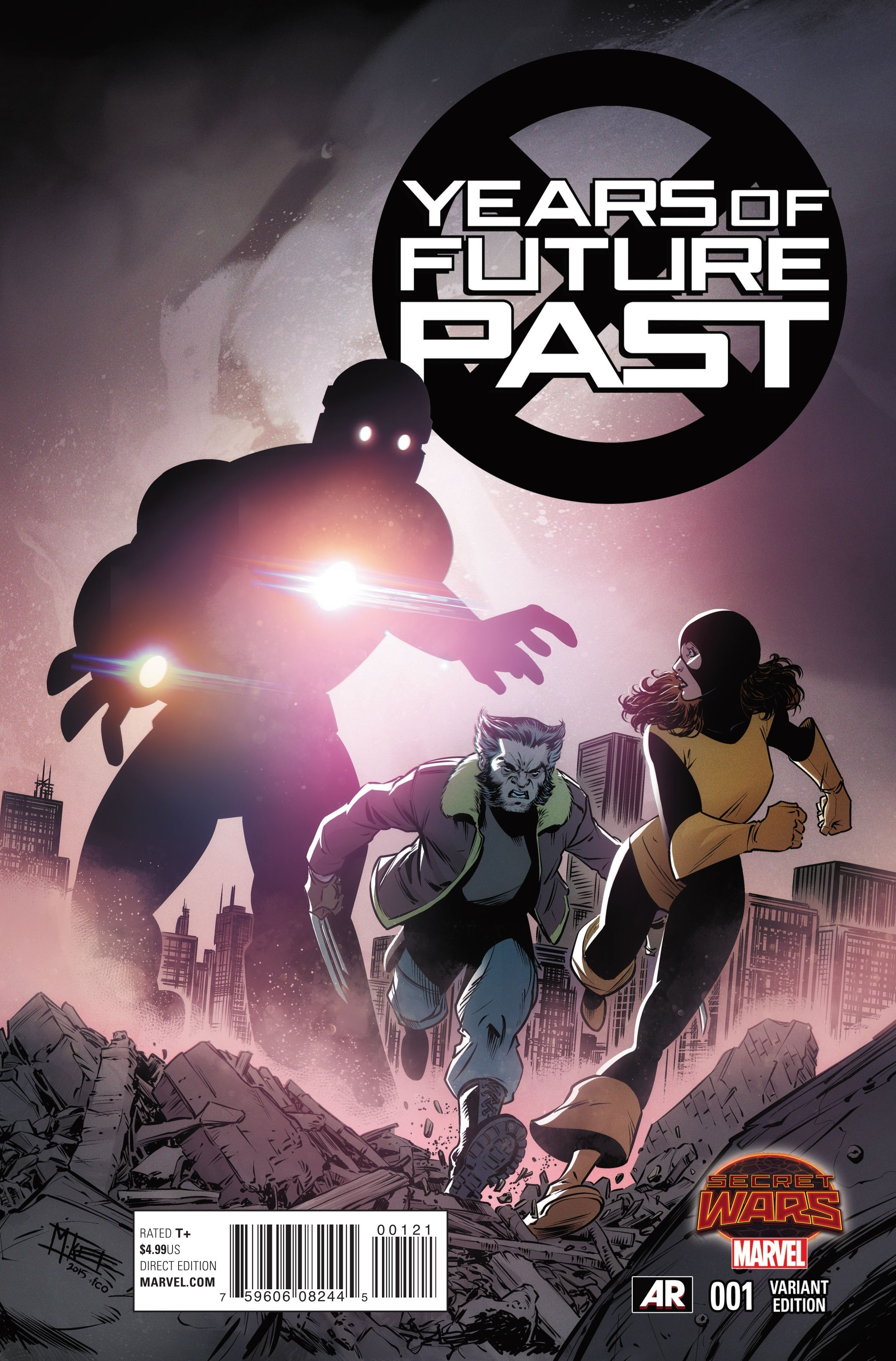 Preview Years Of Future Past 1 All Comic Com Uncanny X Men Ms Gs