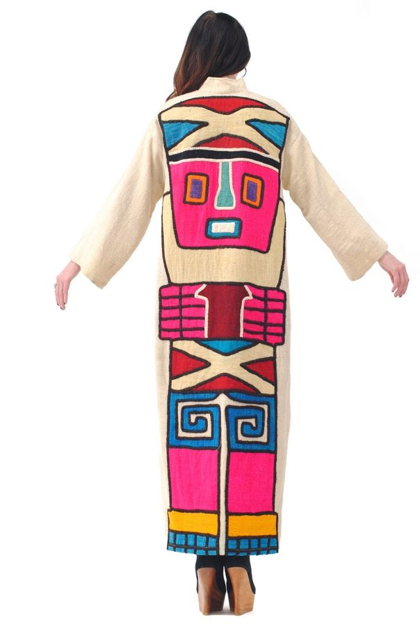 Great Northern Embroidered Totem Dress