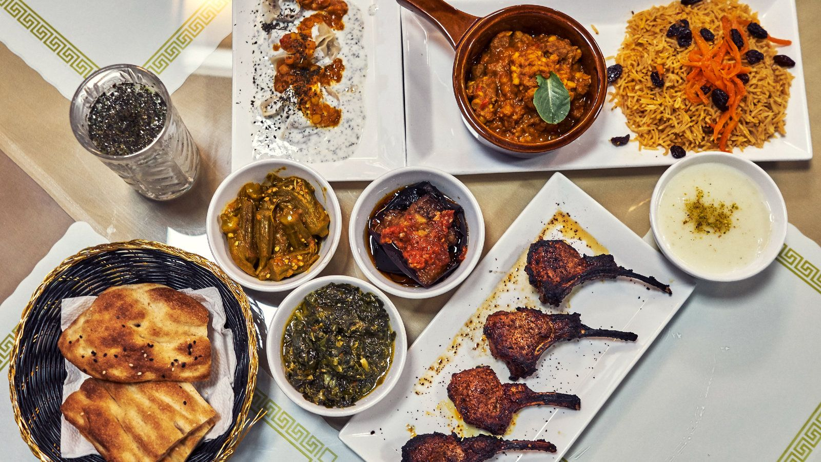 Afghan Delights, Delicate and Rugged, at Sami's Kabab