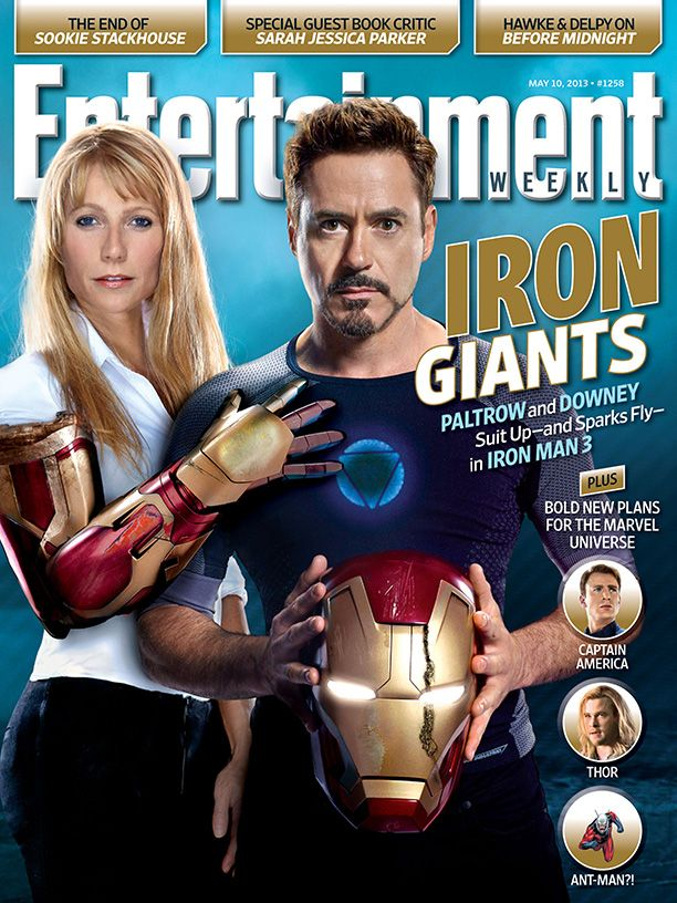 Iron man 3 ew cover features tony stark and armed pepper potts iron man 3 ew cover features tony stark and armed pepper potts voltagebd Gallery