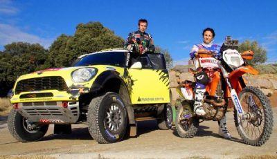 Nani Roma y su esposa Rosa Romero participarán del Dakar 2014