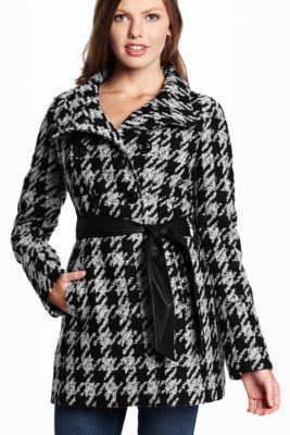 e113b81504 Sookie Houndstooth Coat   GuessFactory.com   My list (me like ...