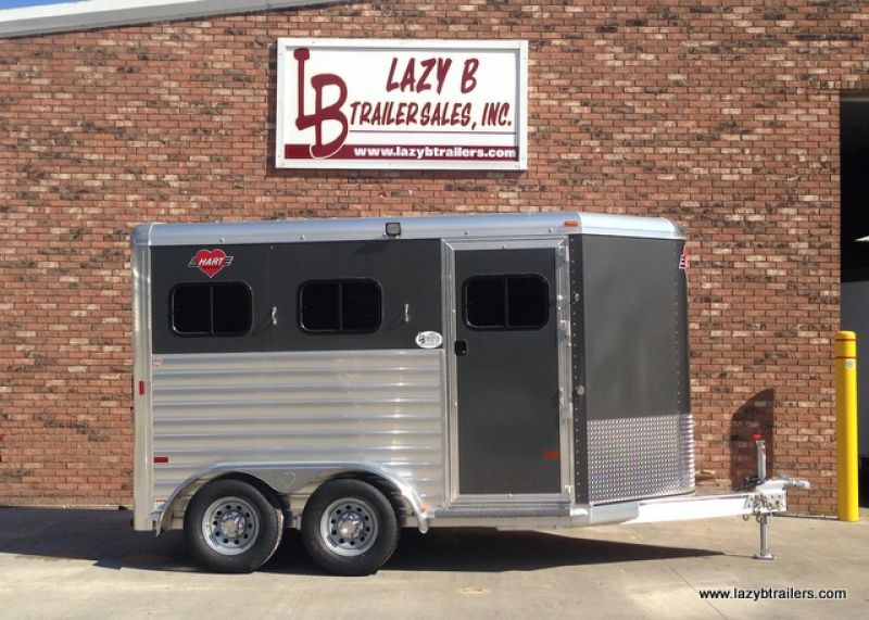 Hart MVP 2Horse Bumper Pull (With images) Trailers for