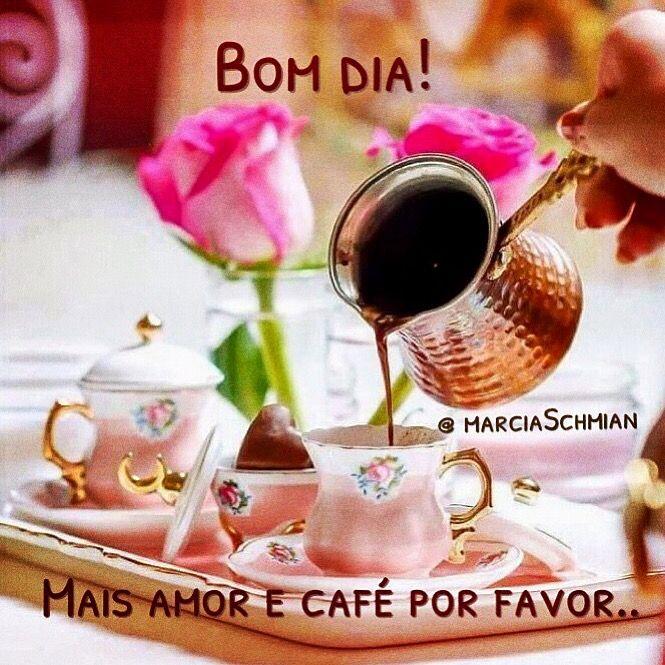 Bomdia Dia Cafedamanha Cafe Saudação Pensamentos Frases