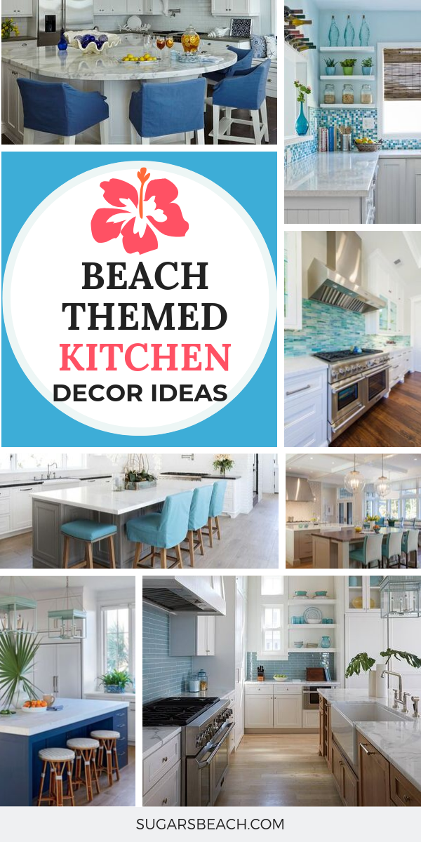 Best Coastal Kitchens Beach Decor Ideas