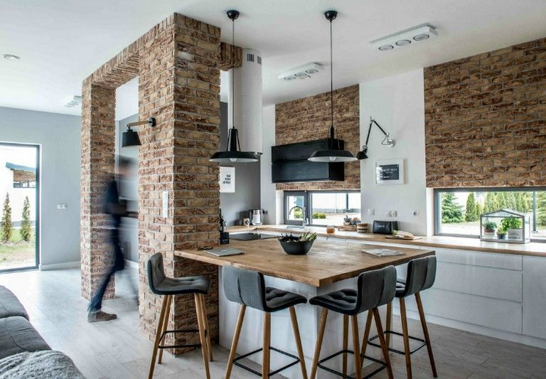 A Big Kitchen Interior Design Will Not Be Hard With Our Clever