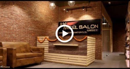 Beauty Salon & Spa Interior Design - ANGEL - Moradabad, UP, India #fitness