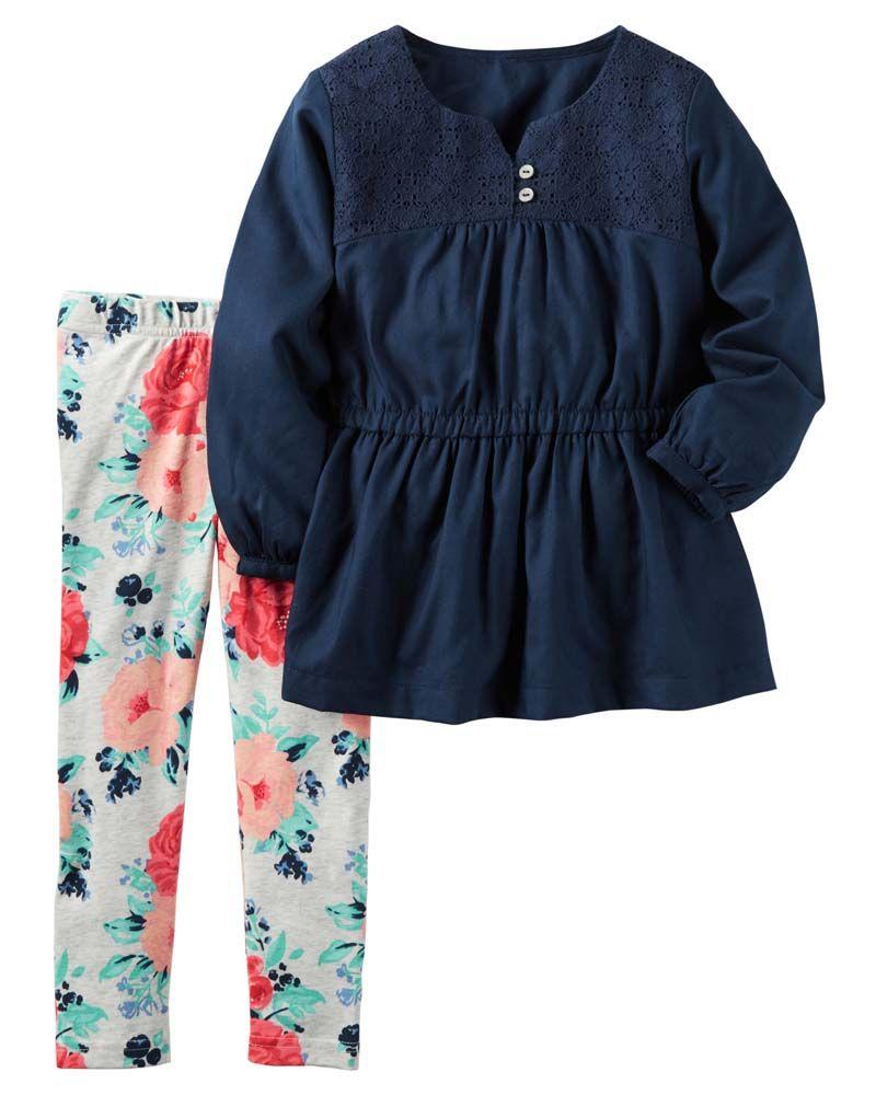 Ropa Niña Carters Conjuntos 2pzas Otoño Invierno 375 00 En Mercado Libre Ropa Para Niñas Vestidos Rosas Para Niñas Ropa Infantil Para Niña