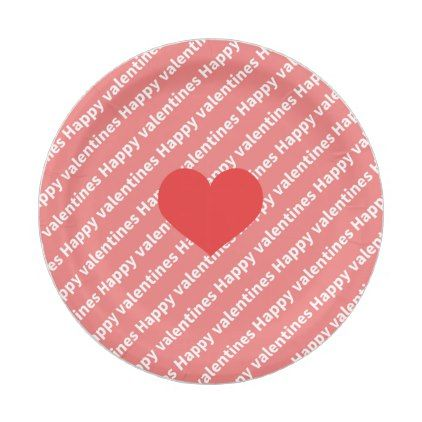 Valentine \'s Heart Paper Tray Paper Plate - kitchen gifts diy ...